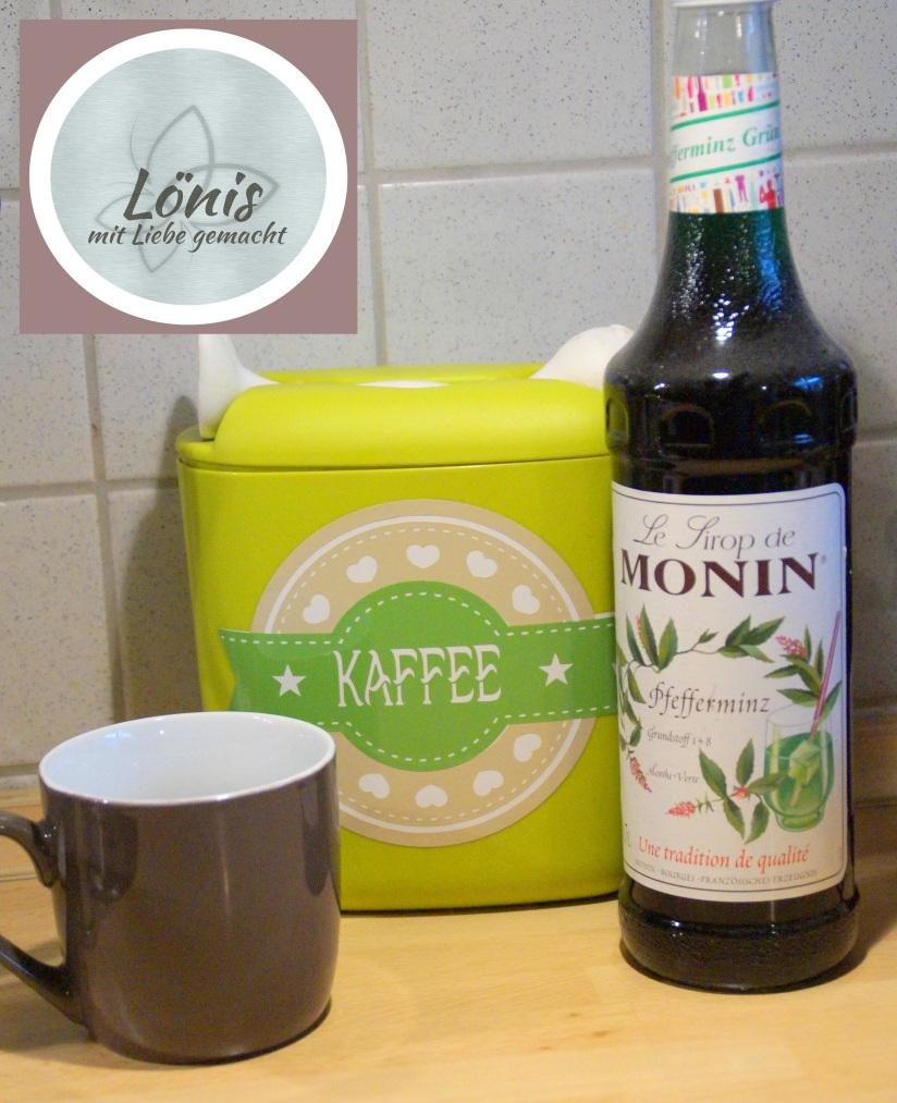 Kaffee mit Sirup