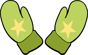 Handschuhe mit Stern